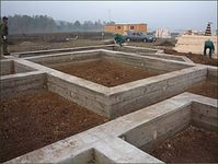 Фундамент для дачного дома своими руками