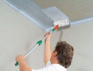 Как побелить потолок? Инструкция