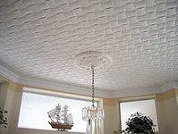 Ремонт квартиры: Отделка потолка плиткой из пенополистирола