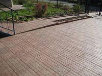 Уличные покрытия полимерпесчаной плиткой