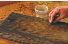 Как состарить мебель, техника покраски