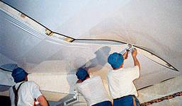 Натяжные потолки монтаж технология