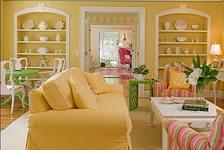 Желтый цвет в интерьере: особенности оформления